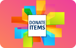 Donate your items